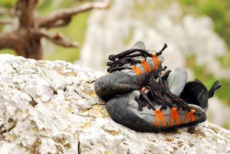 How to Get Smell Out of Climbing Shoes