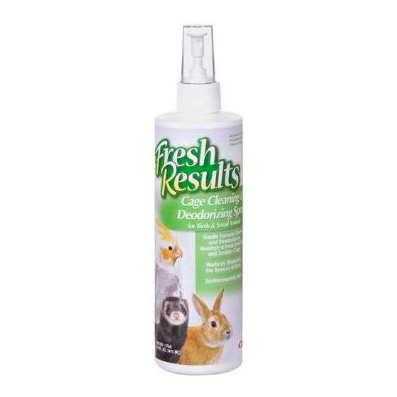 Fresh Results Cage Cleaning & Deodorizing Spray Review