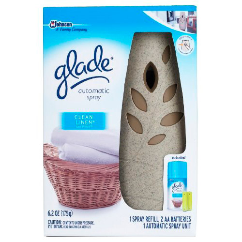 Glade Automatic Spray Starter Clean Linen Review